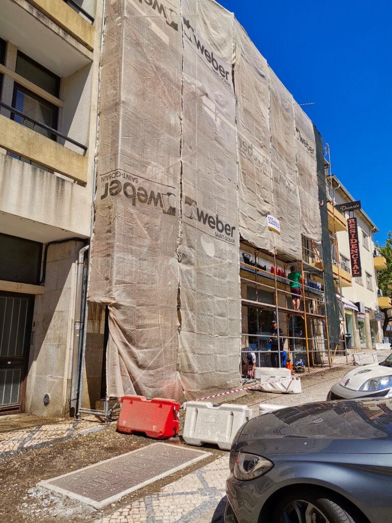 sos obras viseu renovacao fachadas